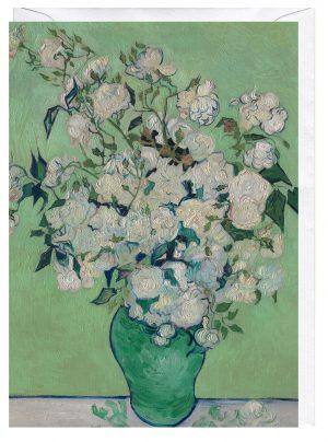 Roses by Vincent Van Gogh Greeting Card