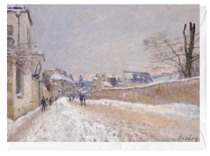 Rue-Eugène-Moussoir-at-Moret-Winter-1891-Alfred-Sisley-Impressionist-Art-Greeting-Card-Blank-Inside-C9065