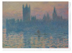 The Houses of Parliament Sunset 1903 Claude Monet Greeting Card