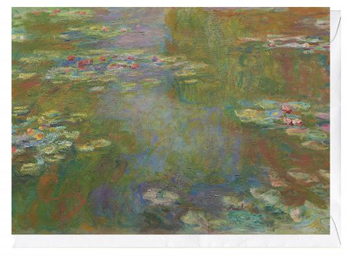 Water Lily Pond 1917 19 Claude Monet Greeting Card
