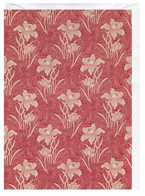 floral-pattern-by-william-morris-greeting-card